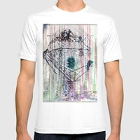 ... Mens Fitted Tee White SMALL