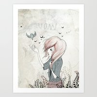 My Heart Carries Me Thro… Art Print