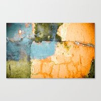 Cement Wall 2 Texture Canvas Print