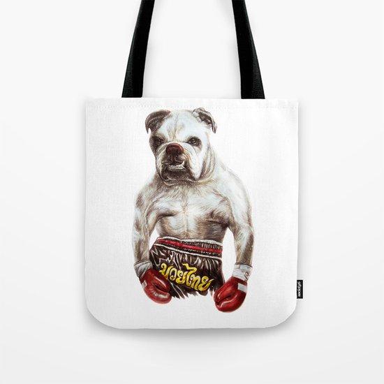 killer dog Tote Bag