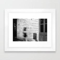 Blurred Out Framed Art Print