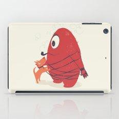 Cyclopes Monster Blob & Orange Dog iPad Case