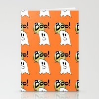 Ghosts Say Boo Stationery Cards