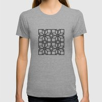 5050 No.7 Womens Fitted Tee Athletic Grey SMALL