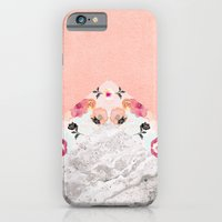 MIX IT BABY - CORAL MARBLE iPhone 6 Slim Case