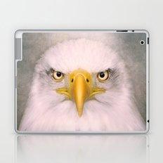 Portrait of an Eagle Laptop & iPad Skin
