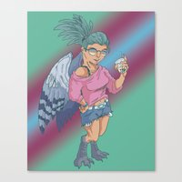 Harpy Gal Canvas Print