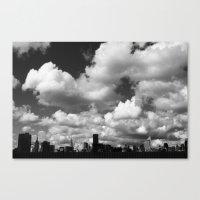 Sky Drama  Canvas Print