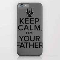 iPhone & iPod Case featuring Keep Calm, I Am Your Father by Firefish