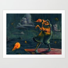 Millie the Sea Witch Art Print
