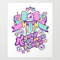 Kyary Pamyu Pamyu Print B Art Print