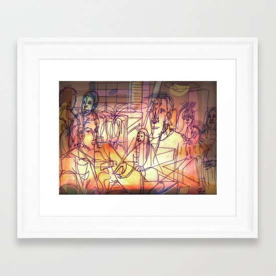 Ukvumi Framed Art Print