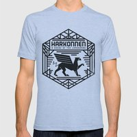 HOUSE HARKONNEN CREST Mens Fitted Tee Athletic Blue SMALL