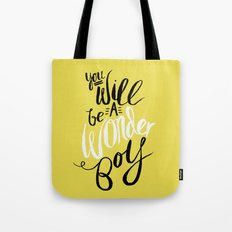 Wonder Boy Tote Bag