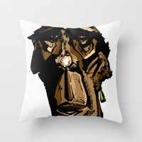 Hello Babe! Throw Pillow