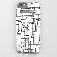 Electropattern(B&W) iPhone 6 Slim Case
