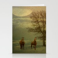 A Winters Evening Stationery Cards