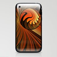 Never Give Up - Abstract… iPhone & iPod Skin