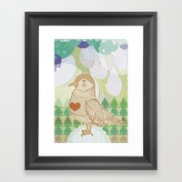 I am very Sad Framed Art Print