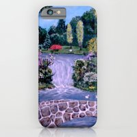iPhone & iPod Case featuring My Garden - by Ave Hurley by ArtRaveSuperCenter: Ave Hurley Illustrat