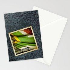 South Africa grunge sticker flag Stationery Cards