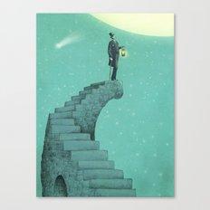 Moon Steps Canvas Print