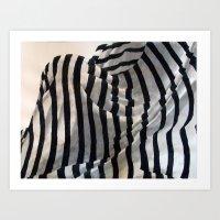 Behind Bars Art Print