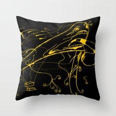Grito Throw Pillow