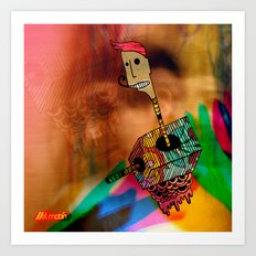 WheresTheCaja Art Print