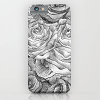 iPhone Cases featuring Rose #2 by Jenny Liz Rome