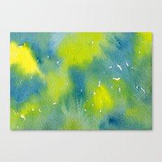 Vibrant sunshine tree top Canvas Print