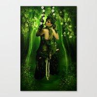 Swinging On A Dream Canvas Print