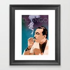 Django Reinhardt Framed Art Print