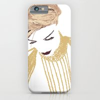 iPhone & iPod Case featuring Her eyes were low by frtortora