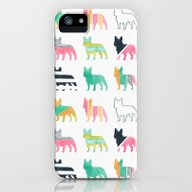 French Bulldogs iPhone (5, 5s) Slim Case