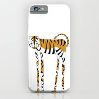 Long legs Tiger iPhone 6 Slim Case