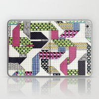 Ribbons with Patterns Laptop & iPad Skin