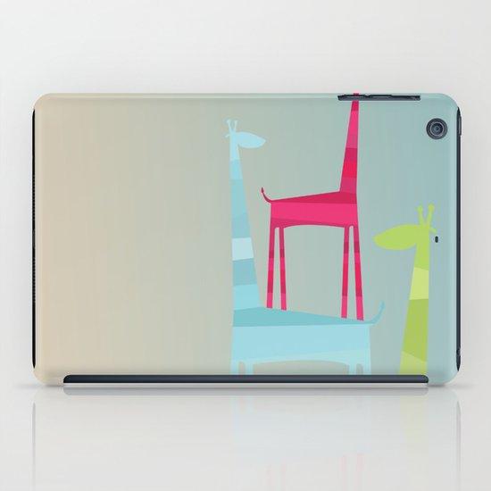 Giraffe Trio iPad Case