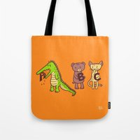 A is for Jerks! Tote Bag