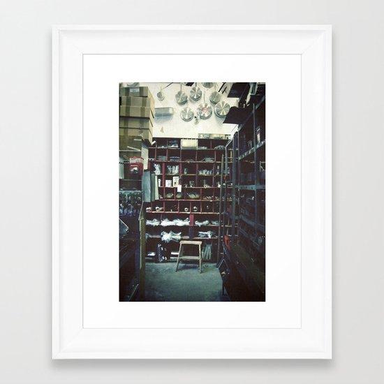 Paris Cook Shop Framed Art Print
