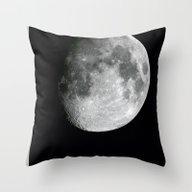 Throw Pillow featuring Moon by Alejandro De Antonio…
