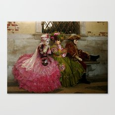 Venice Carnival IV Canvas Print