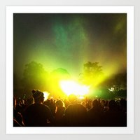 OUTSIDE LANDS II Art Print