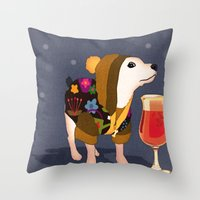 Boogie Bear LIMITED EDITION Throw Pillow