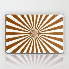 Starburst (Brown/White) Laptop & iPad Skin