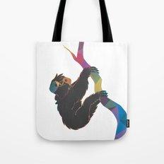 Geometric Sloth Tote Bag