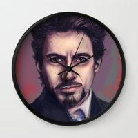 Tony Stark Wall Clock