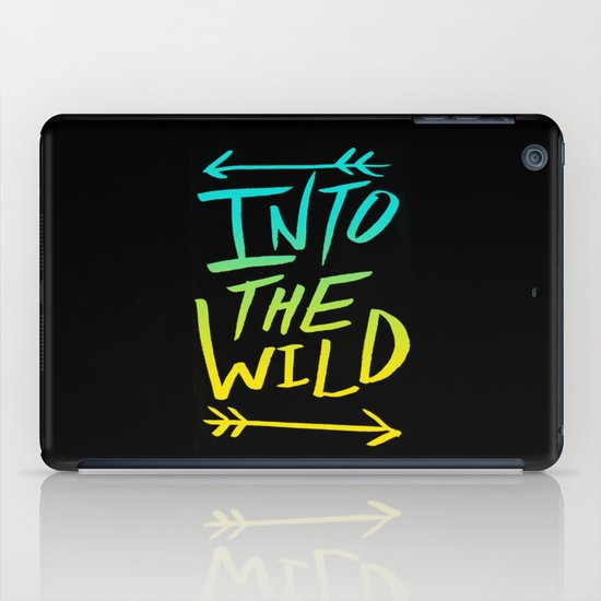Into The Wild: Typography iPad Case