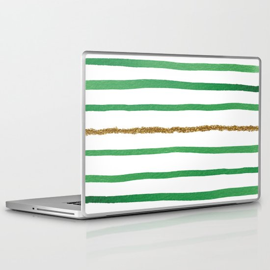 Sparkle Stripe II Laptop & iPad Skin