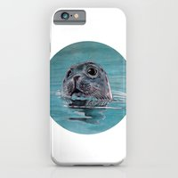 iPhone & iPod Case featuring seal by ARTito